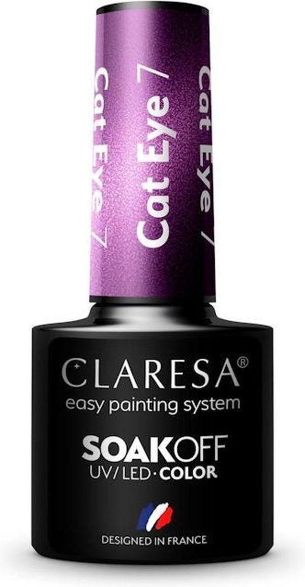 Claresa Gellak Cat Eye 7 - 5ml.