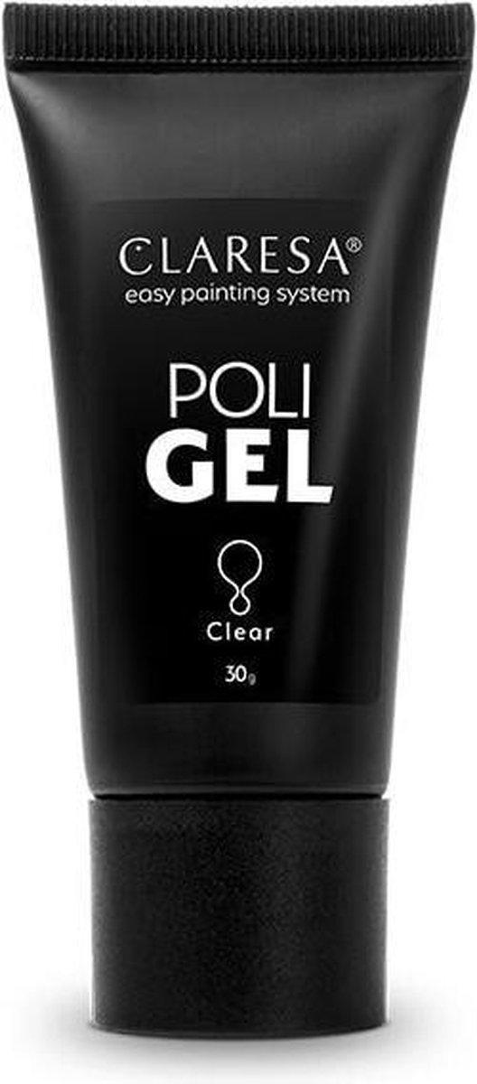 Claresa Polygel - Polyacryl Gel Clear 30g.
