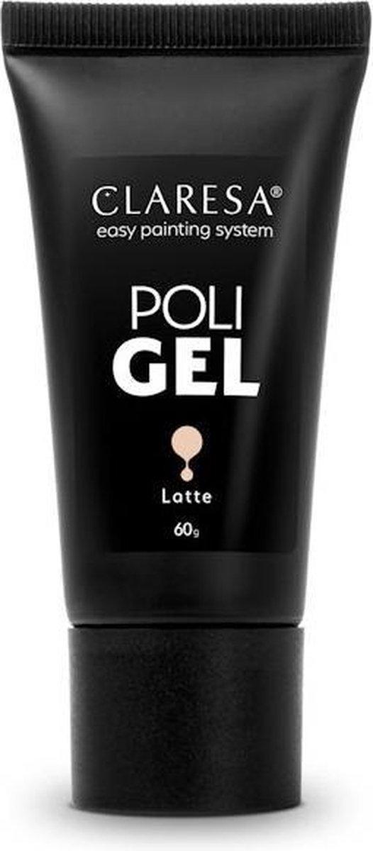 Claresa Polygel - Polyacryl Gel Latte 60gr.
