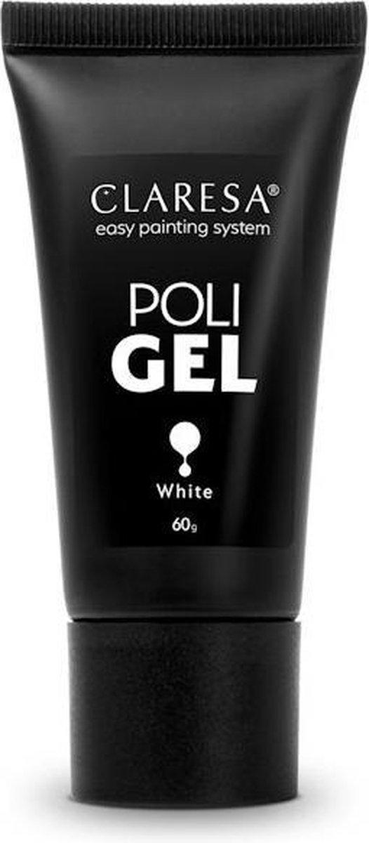 Claresa Polygel - Polyacryl Gel White 60gr.