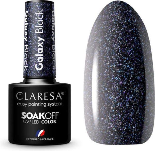 Claresa UV/LED Gellak Galaxy Black #6