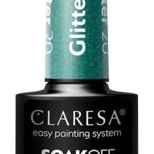 Claresa UV/LED Gellak Glitter #20 - 5ml.