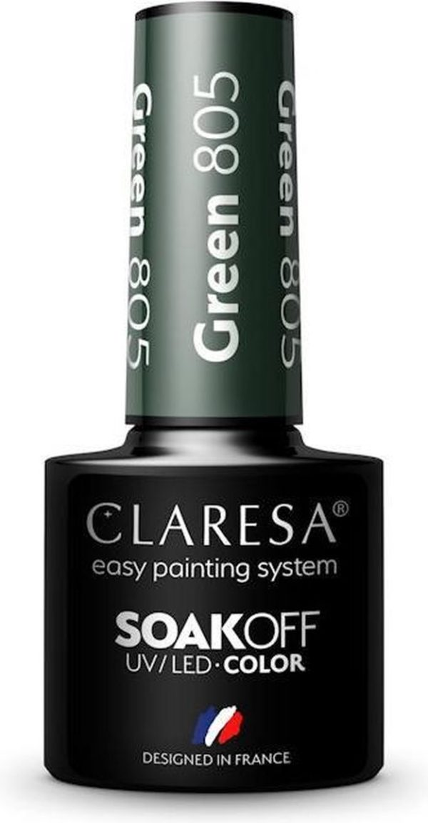 Claresa UV/LED Gellak Green #805 - 5ml.