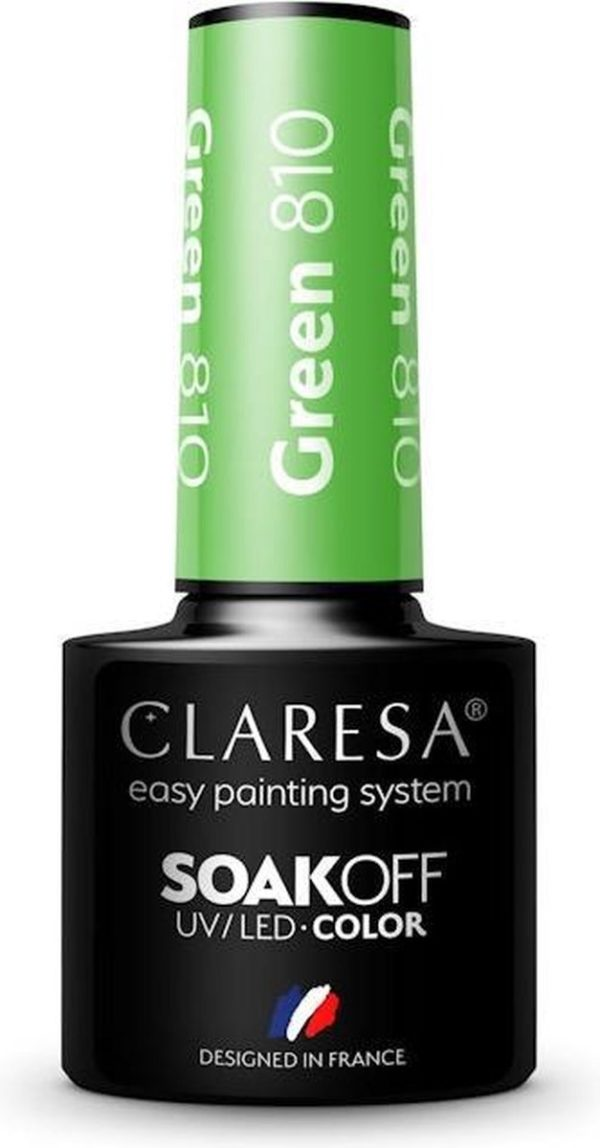 Claresa UV/LED Gellak Green #810 - 5ml.