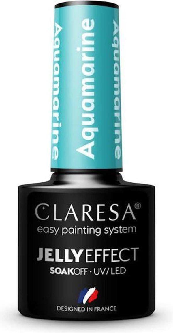 Claresa UV/LED Gellak Jelly Aquamarine 5ml.