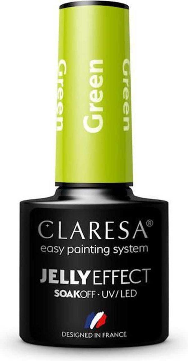 Claresa UV/LED Gellak Jelly Green 5ml.