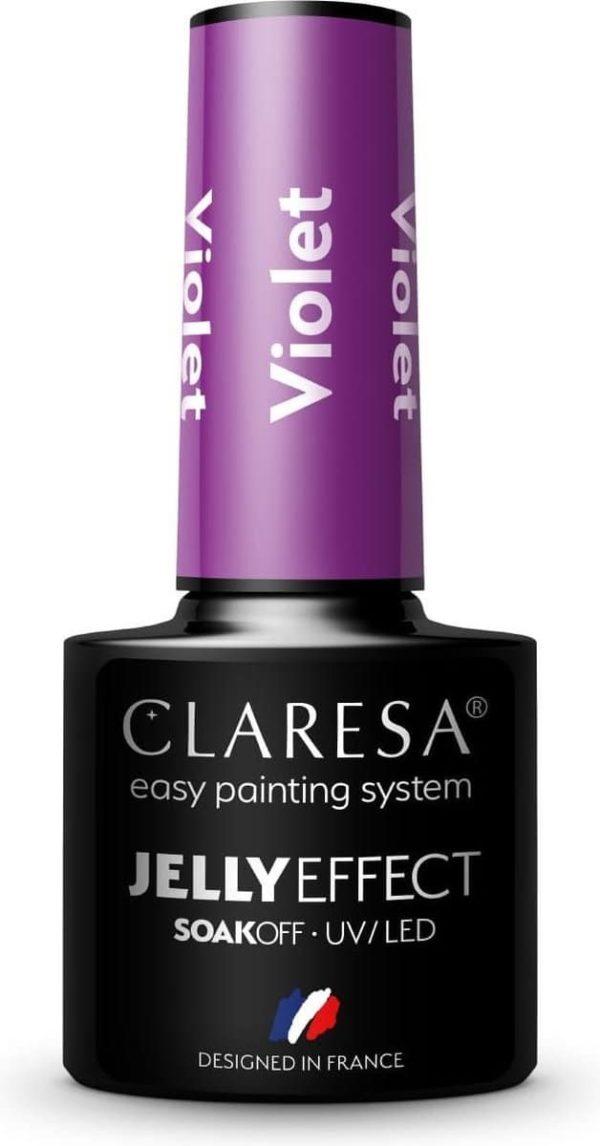 Claresa UV/LED Gellak Jelly Violet 5ml.