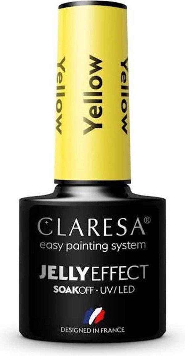 Claresa UV/LED Gellak Jelly Yellow 5ml.