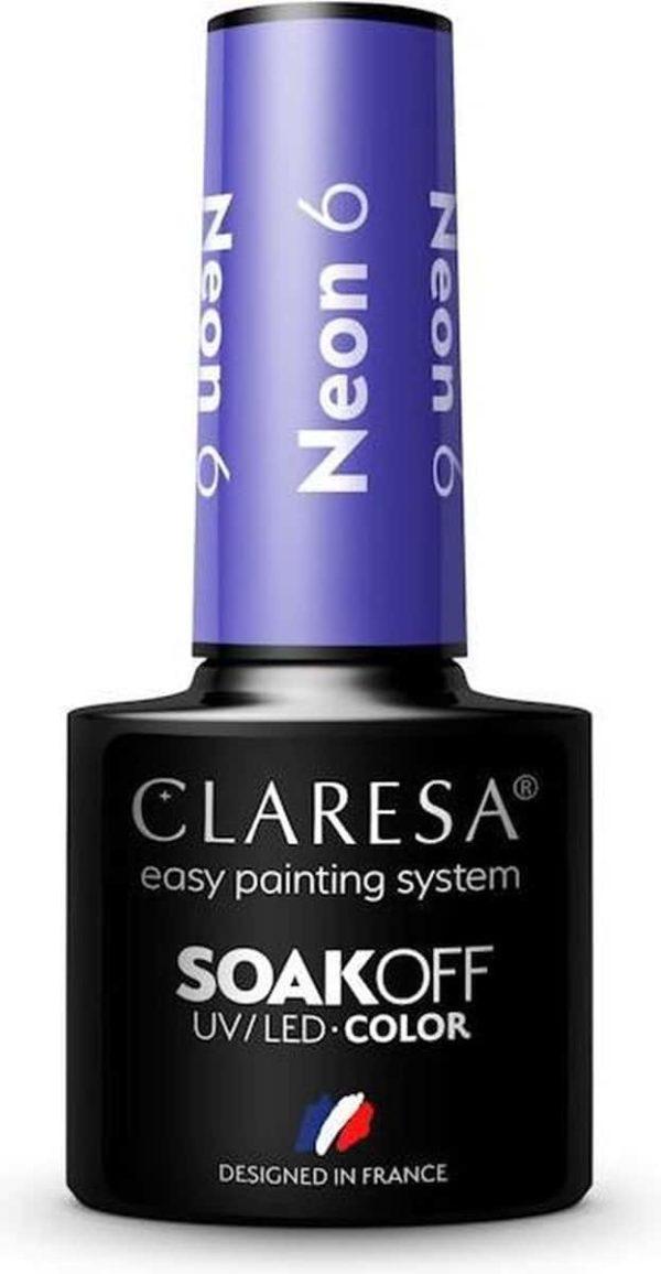 Claresa UV/LED Gellak Neon #6 - 5ml.