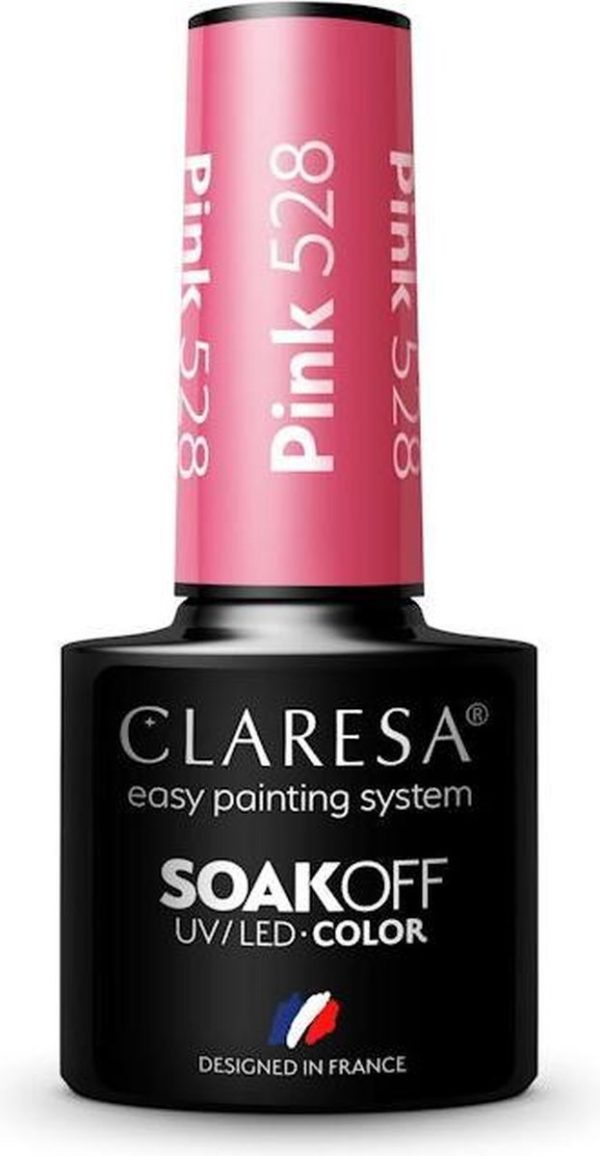 Claresa UV/LED Gellak Roze #528 - 5ml.