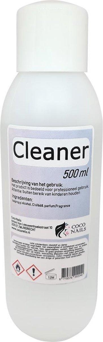 Claudianails Cleaner Alcohol Nagel ontvetter - Kunstnagels