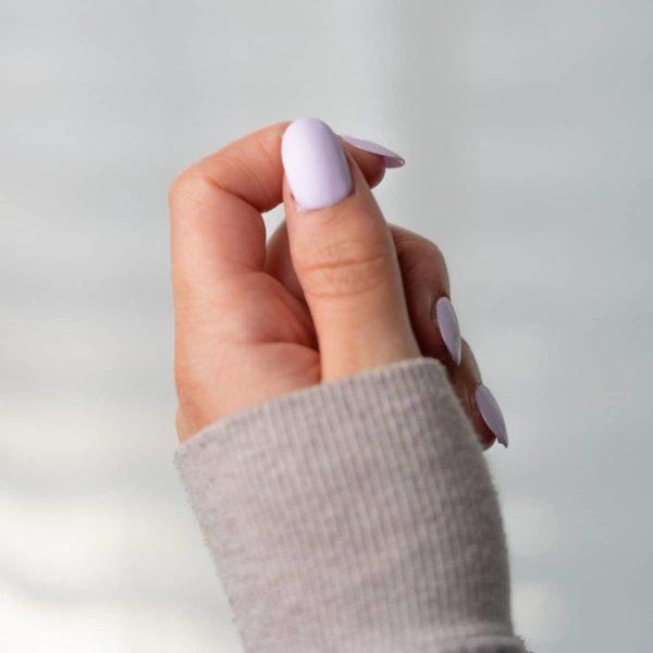 Colores Violetta - Nepnagels - Ovaal kort - Handgemaakt - Lila