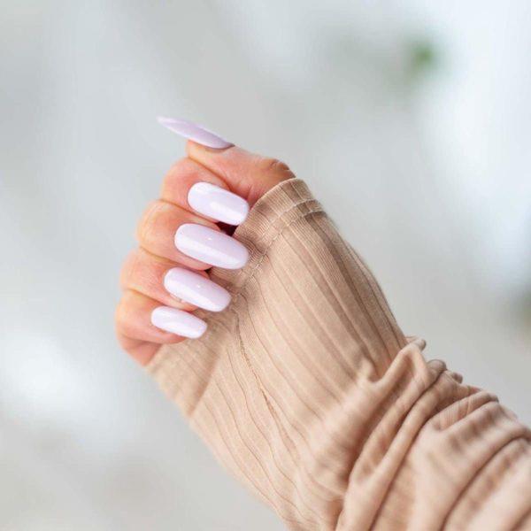 Colores Violetta - Nepnagels - Ovaal lang - Handgemaakt - Lila