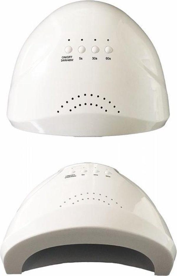 Combi UV/LED Lamp - Gellak nagels - Handen en Voeten - Perfect Resultaat ( met afneembaar onderstuk )