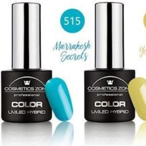 Cosmetics Zone Gellak Set Topcoat, Basecoat en 3 kleuren - Adventure