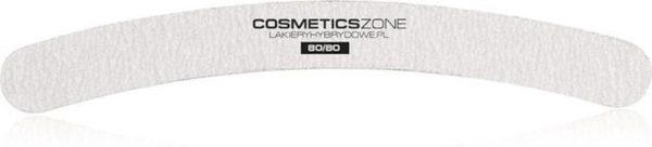 Cosmetics Zone Professionele Nagelvijl Grit Banaan 80/80 Set a 50 stuks