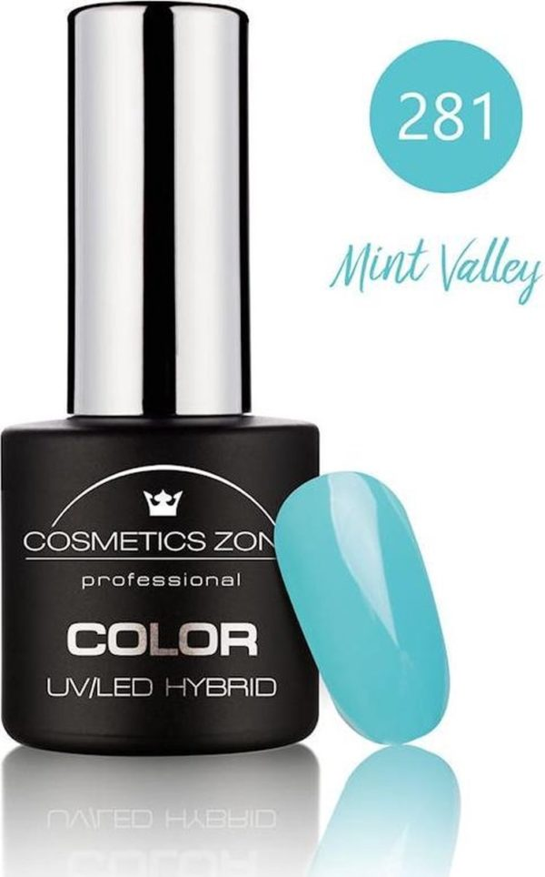 Cosmetics Zone UV/LED Gellak Mint Valley 281