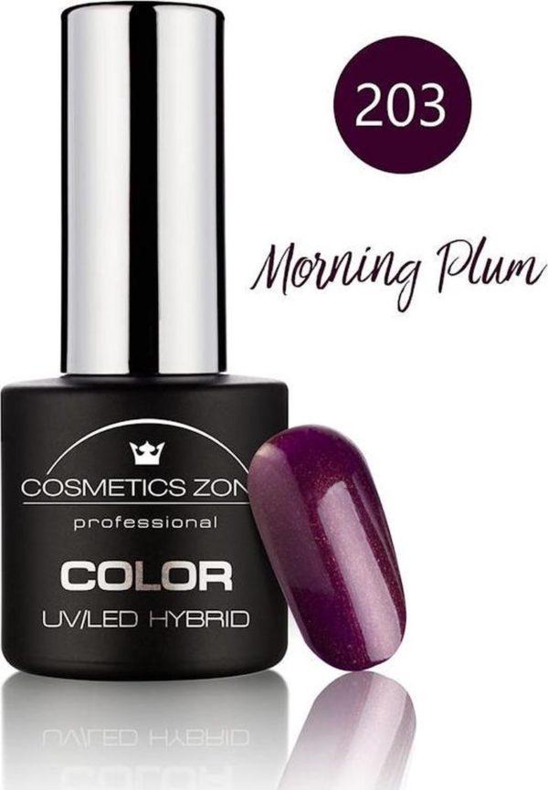Cosmetics Zone UV/LED Gellak Morning Plum 203