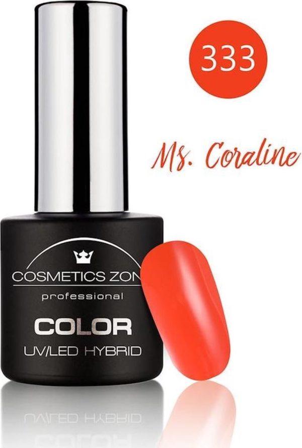 Cosmetics Zone UV/LED Gellak Ms. Coraline 333