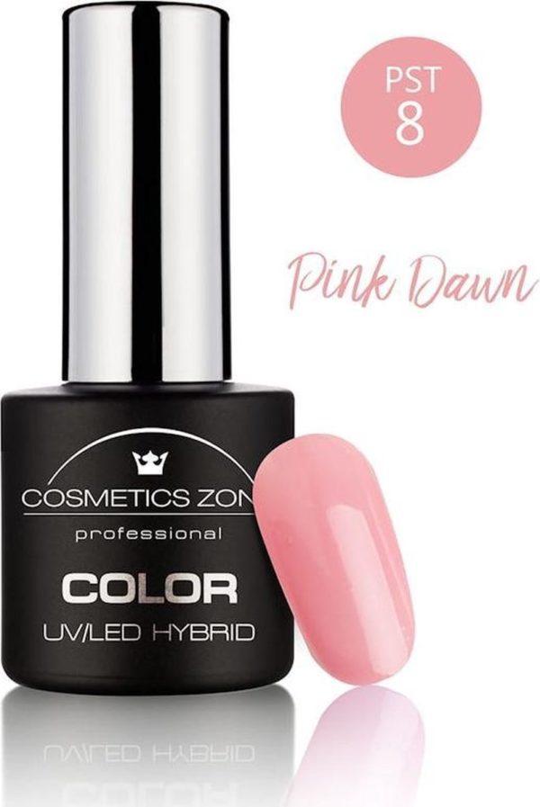 Cosmetics Zone UV/LED Gellak Pink Dawn PST8