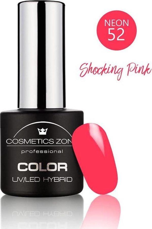 Cosmetics Zone UV/LED Gellak Shocking Pink N52