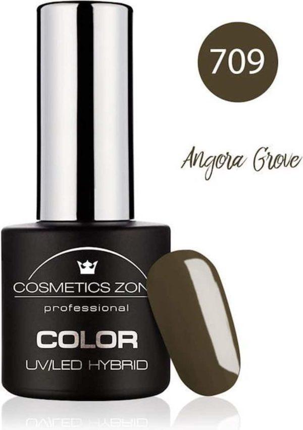 Cosmetics Zone UV/LED Hybrid Gellak 7ml. Angora Grove 709