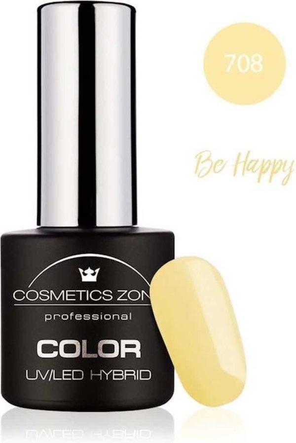 Cosmetics Zone UV/LED Hybrid Gellak 7ml. Be Happy 708