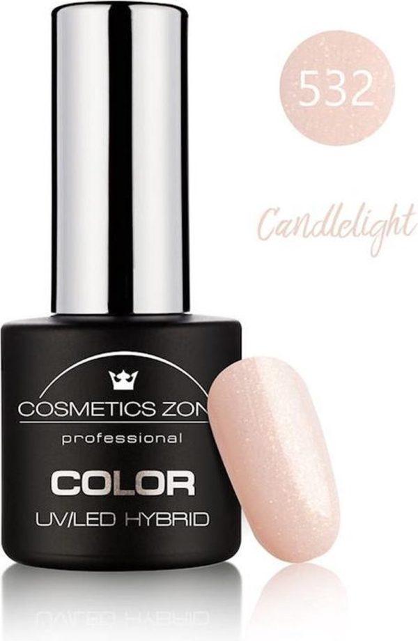 Cosmetics Zone UV/LED Hybrid Gellak 7ml. Candlelight 532