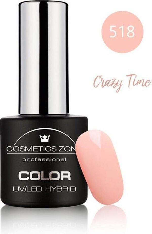 Cosmetics Zone UV/LED Hybrid Gellak 7ml. Crazy Time 518