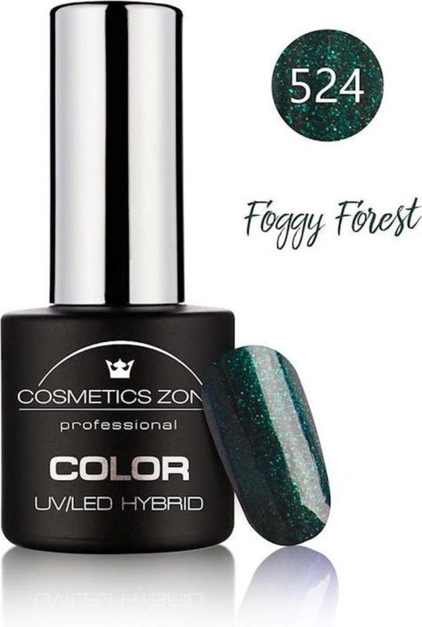 Cosmetics Zone UV/LED Hybrid Gellak 7ml. Foggy Forest 524