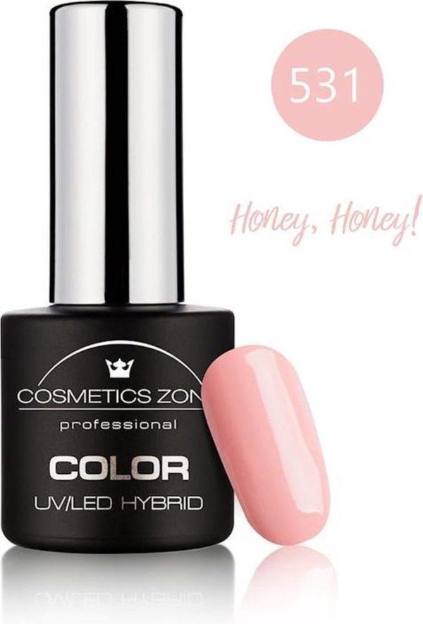Cosmetics Zone UV/LED Hybrid Gellak 7ml. Honey, Honey! 531
