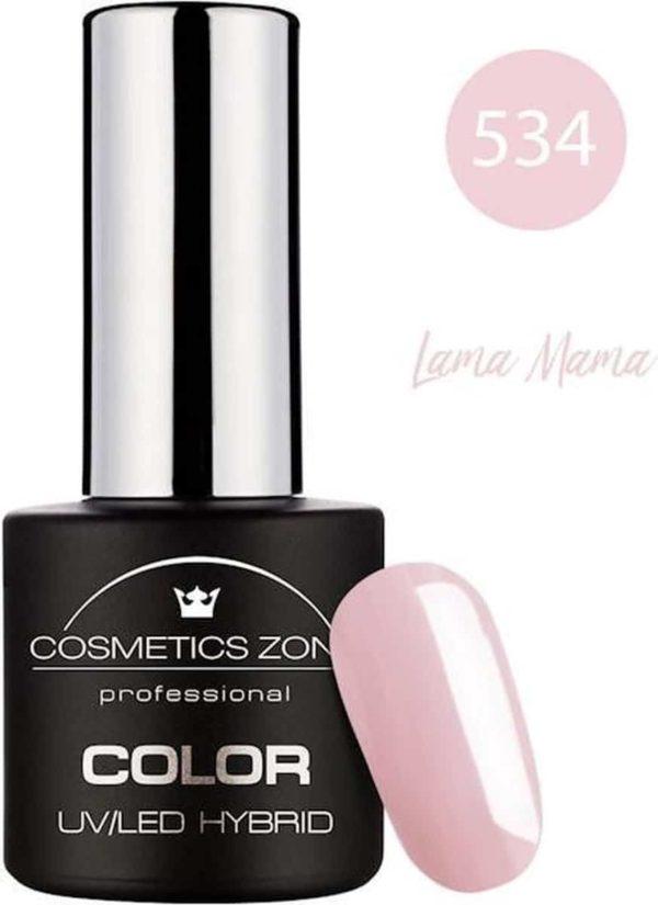 Cosmetics Zone UV/LED Hybrid Gellak 7ml. Lama Mama 534