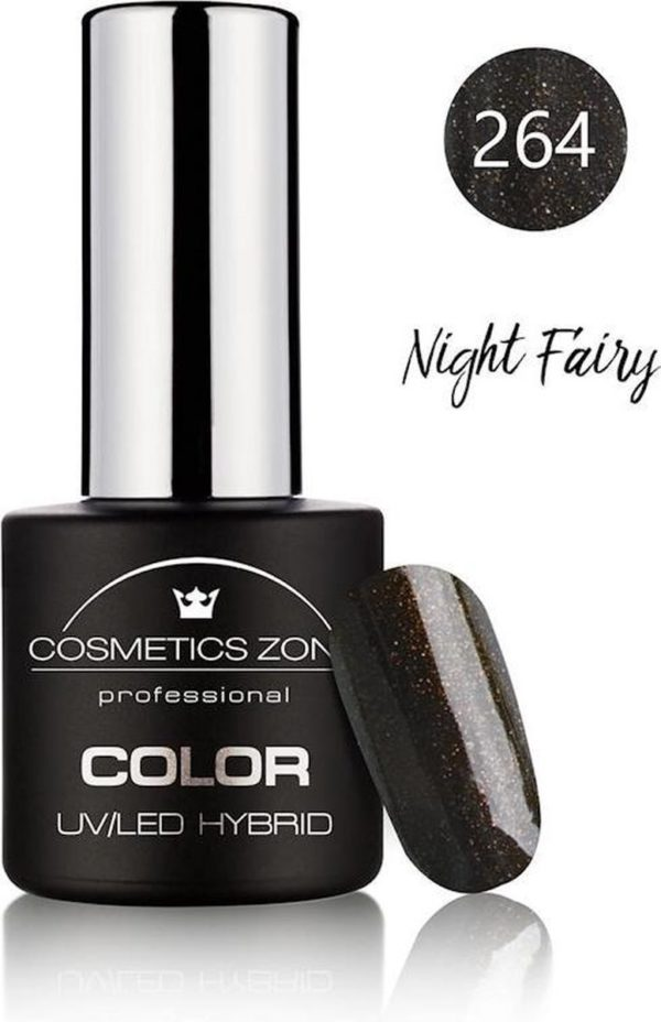 Cosmetics Zone UV/LED Hybrid Gellak 7ml. Night Fairy 264