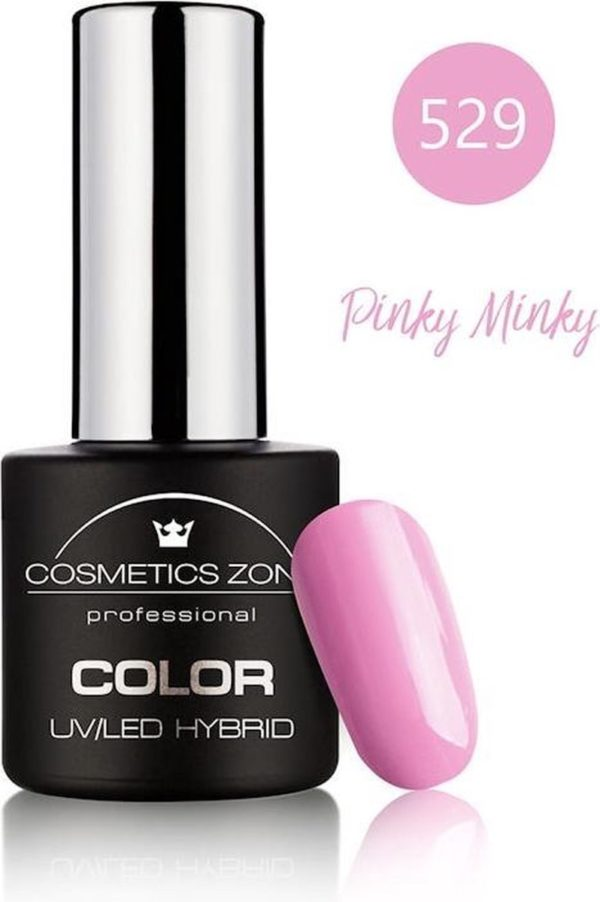 Cosmetics Zone UV/LED Hybrid Gellak 7ml. Pinky Minky 529