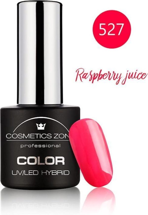 Cosmetics Zone UV/LED Hybrid Gellak 7ml. Raspberry Juice 527