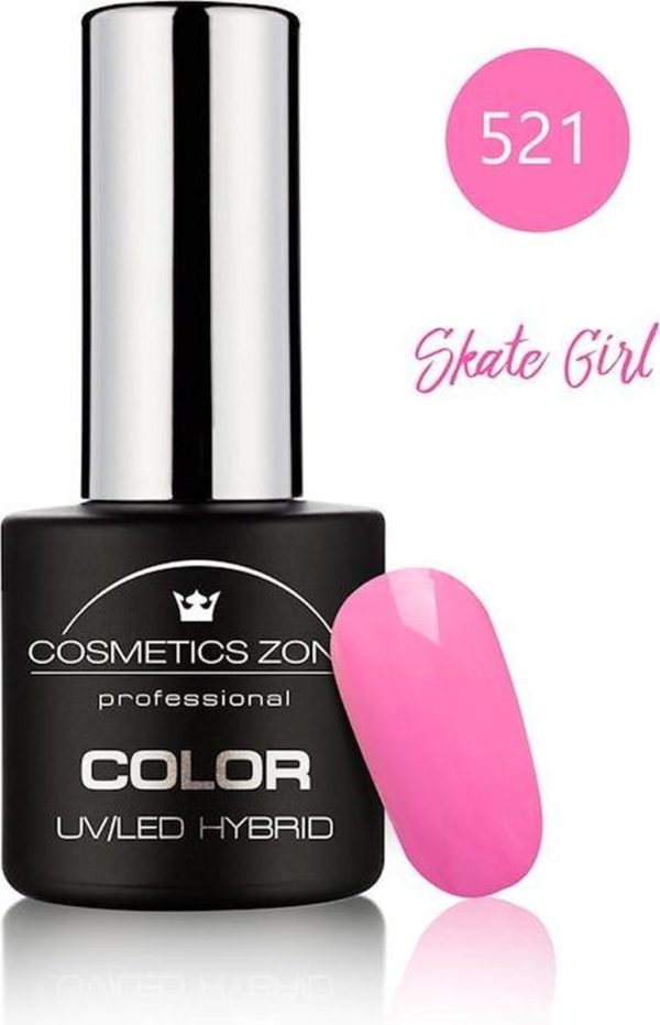 Cosmetics Zone UV/LED Hybrid Gellak 7ml. Skate Girl 521