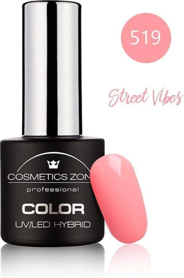 Cosmetics Zone UV/LED Hybrid Gellak 7ml. Street Vibes 519