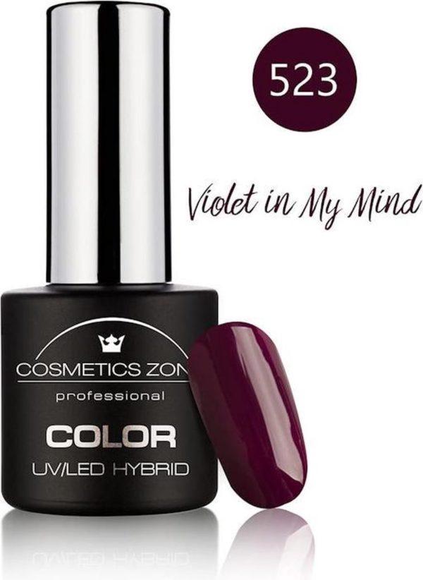 Cosmetics Zone UV/LED Hybrid Gellak 7ml. Violet In My Mind 523