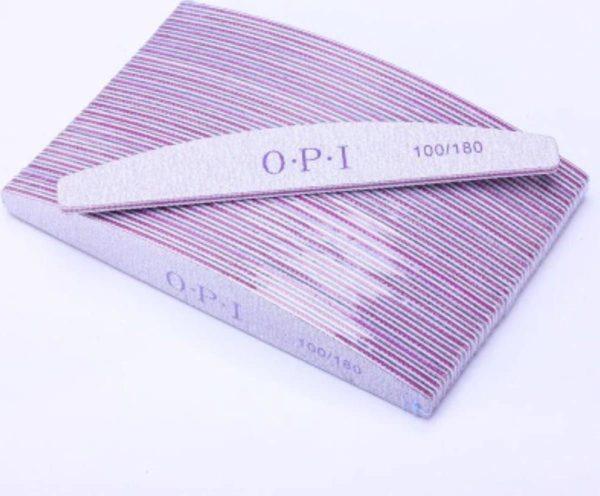 DD Nails Cosmetics/ Nagelvijl No. 4 Moon 100/180 GIT - 5 STUKS - Grof / Zachte Vijl - High Quality - Professionele markt