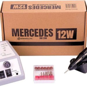 DRM Mercedes 12w. Manicure Nagelfrees DM298 Grijs