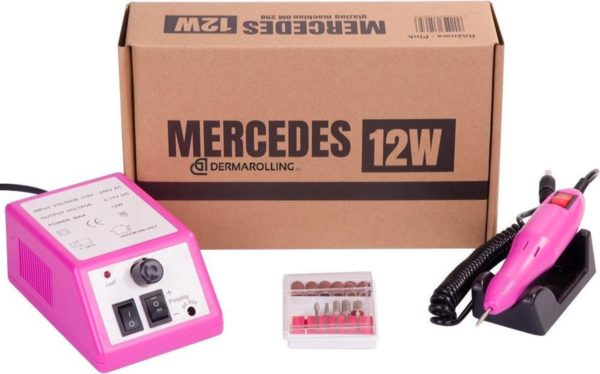 DRM Mercedes 12w. Manicure Nagelfrees DM298 Roze