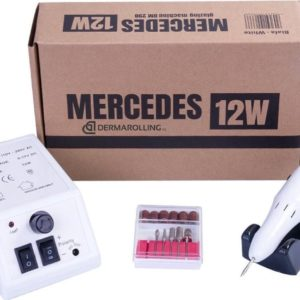 DRM Mercedes 12w. Manicure Nagelfrees DM298 Wit