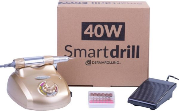 DRM Professionele 40w. Manicure Nagelfrees DM208 Goud