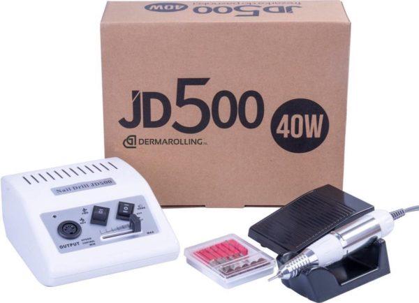 DRM Professionele 40w. Manicure Nagelfrees JD500 Wit
