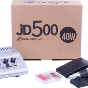 DRM Professionele 40w. Manicure Nagelfrees JD500 Zilver