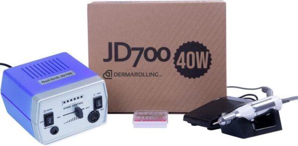 DRM Professionele 40w. Manicure Nagelfrees JD700 Blauw