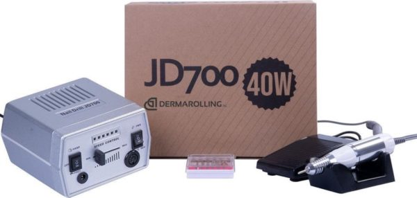 DRM Professionele 40w. Manicure Nagelfrees JD700 Zilver
