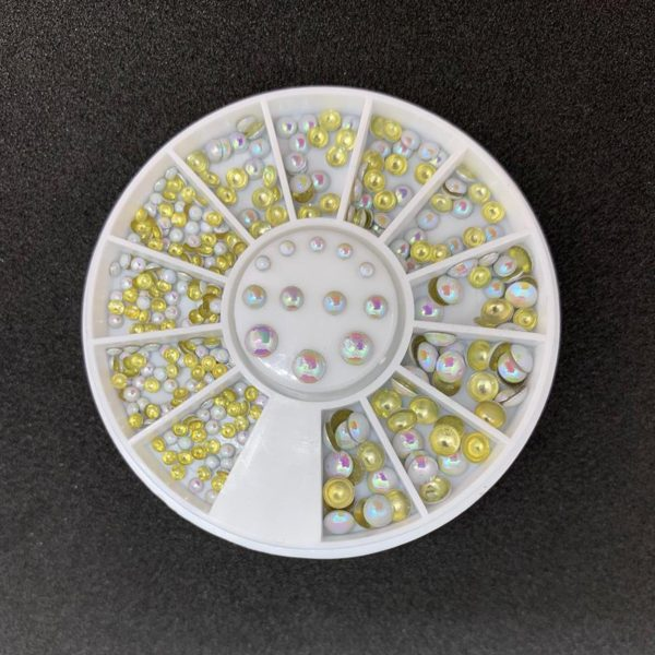 DW4Trading® Nagelversiering nail art acryl gel rhinestones carrousel 1