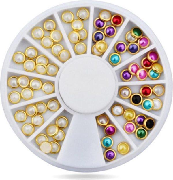 DW4Trading® Nagelversiering nail art acryl gel rhinestones carrousel 13