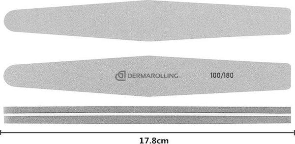 Dermarolling Professionele Nagelvijl Rocket Grit 100/180